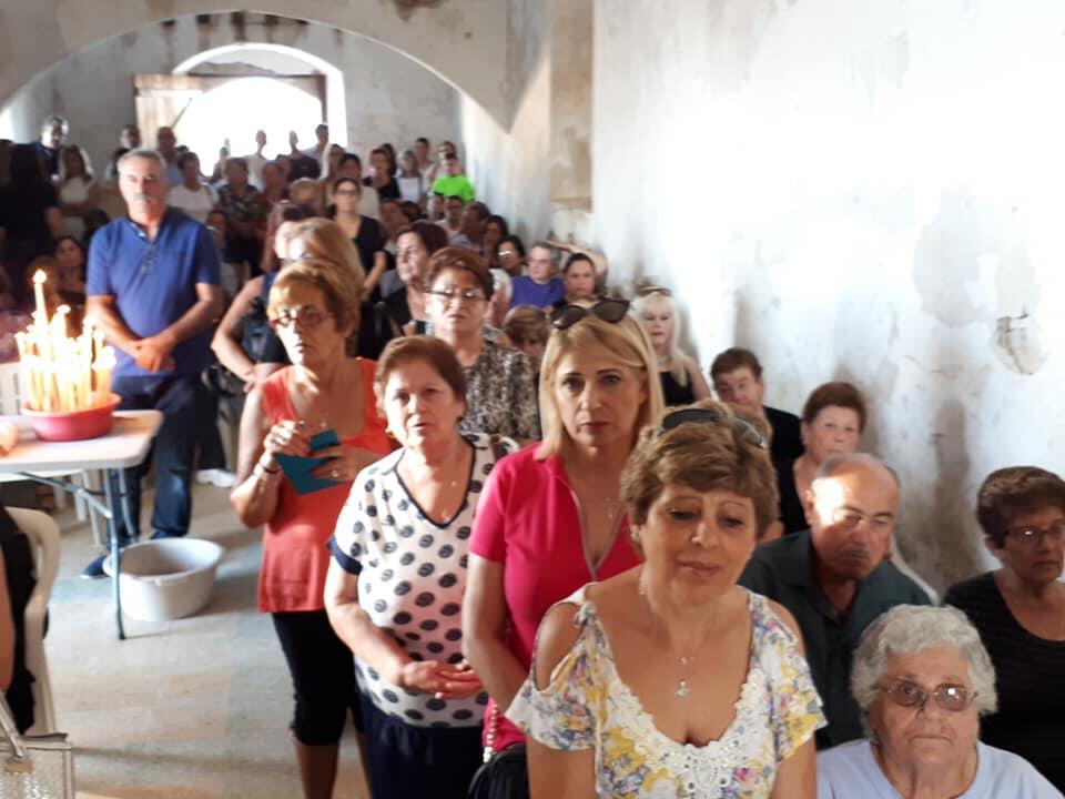 Χαρμολύπη στον κατεχόμενο ναό των Αγίων Ανδρονίκου και Αθανασίας στην Μηλιά Αμμοχώστου