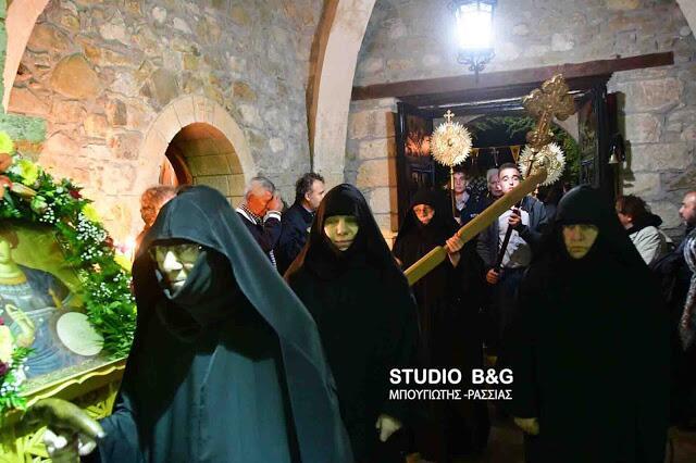 Εκοιμήθη πριν λίγες ώρες η μοναχή Παταπία της Ιεράς Μονής Καρακαλά