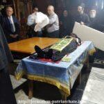 Συγκλονιστικές εικόνες: Τοποθέτηση του Λειψάνου του Αγίου Σάββα του Ηγιασμένου σε νέα Λάρνακα