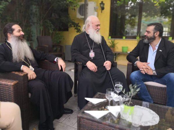 Συνάντηση Διοίκησης ΚΤΥΠ ΑΕ με τον Αρχιεπίσκοπο Ιερώνυμο