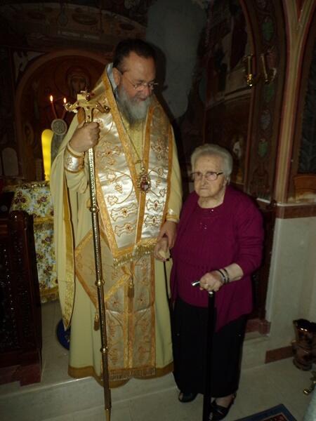 Εκοιμήθη η μητέρα του Μητροπολίτη Κορίνθου
