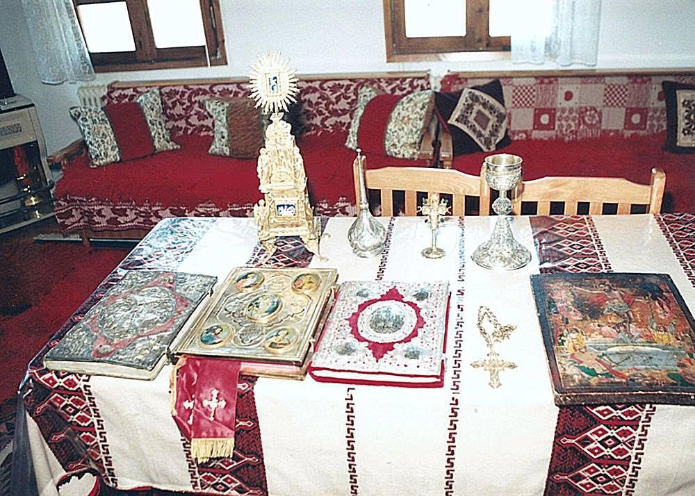 Αγία Παρασκευή Σερρών Ιερά κειμήλια Πόντος