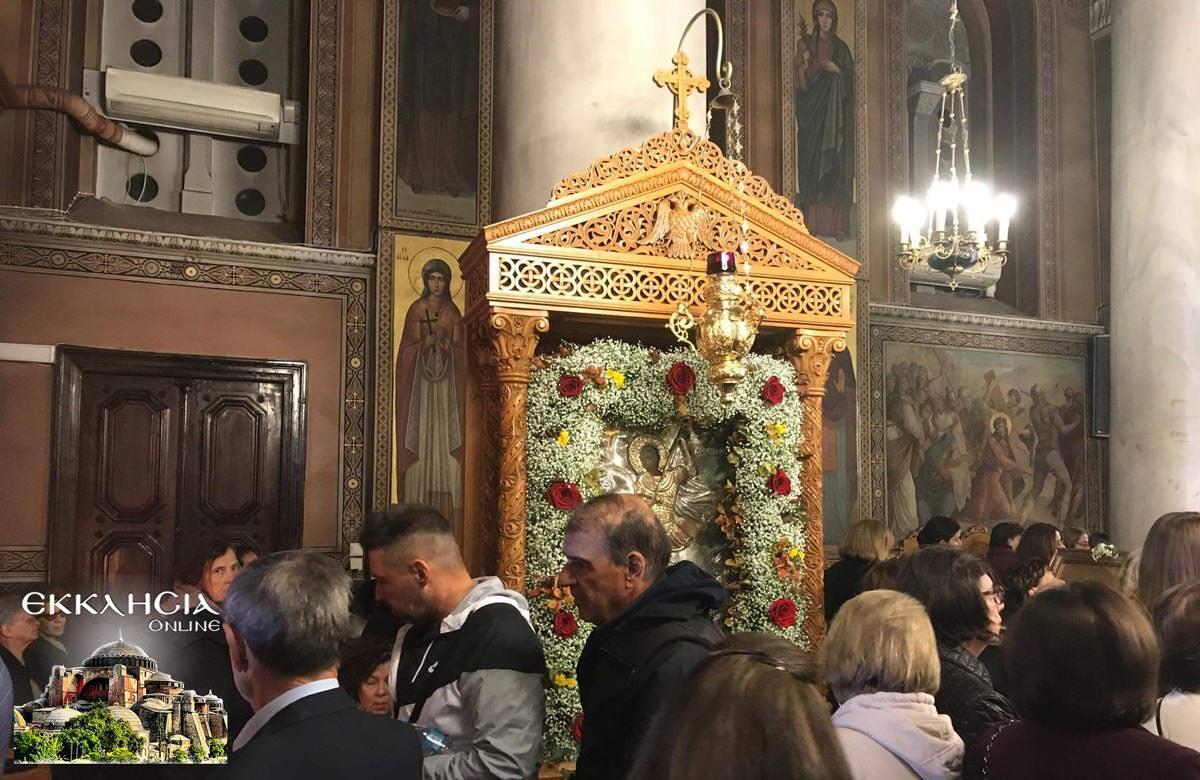 Πολυαρχιερατικός Εσπερινός Αγίου Δημητρίου Κηφισιάς Άγιος Δημήτριος