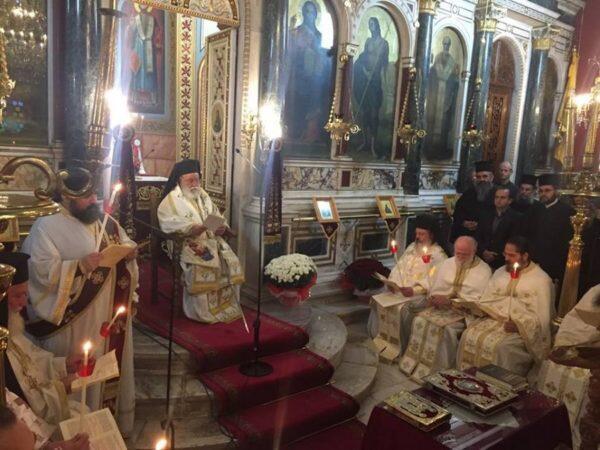 Τρίπολη: Η Θεία Λειτουργία του Αγίου Ιακώβου του Αδελφοθέου