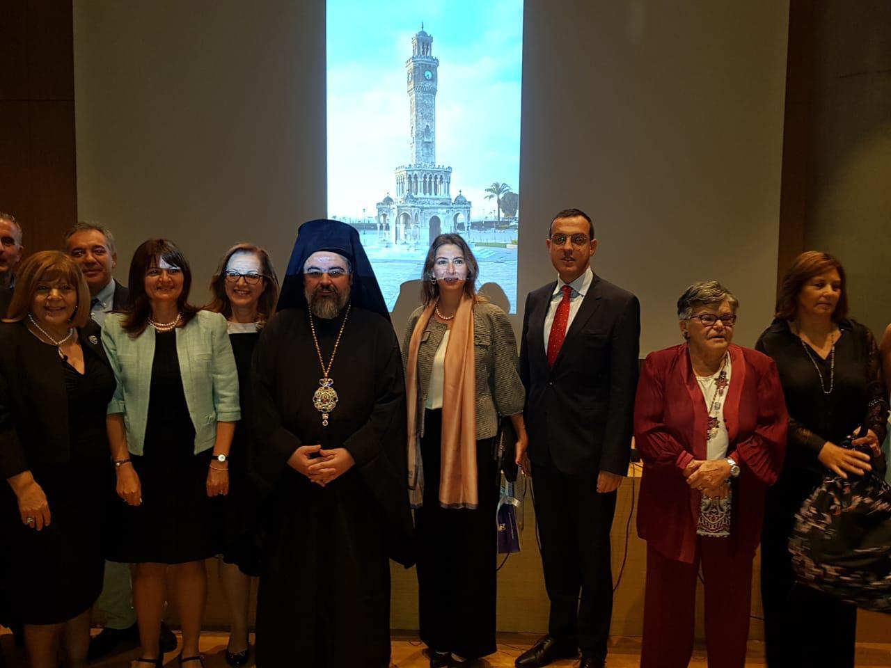 Ο Σμύρνης Βαρθολομαίος σε εκδηλώσεις Μικρασιατών στην Αθήνα