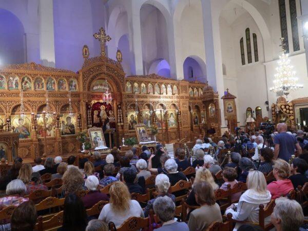ΔΗΜΗΤΡΙΑ 2018: Πλήθος πιστών στην ομιλία του Αρχιμ. Αρσένιου Σιναΐτη