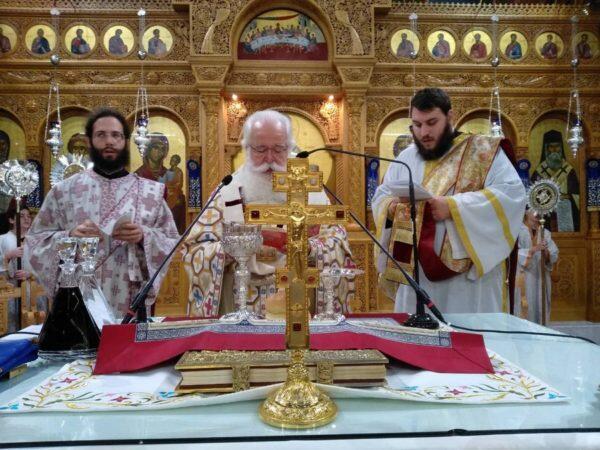 Βόλος: Η αρχαιοπρεπής Θεία Λειτουργία του Αγ. Ιακώβου του Αδελφοθέου