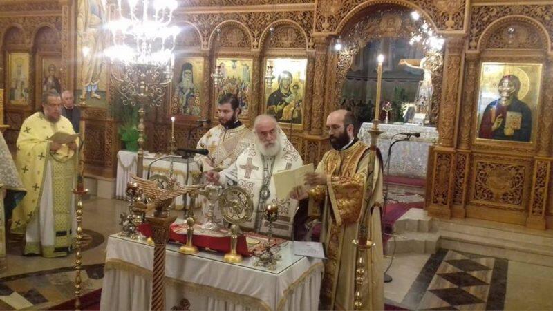 Ξάνθη: Θεία Λειτουργία του Αγίου Ιακώβου του Αδελφοθέου