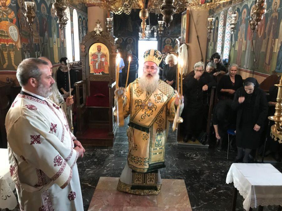 Ιεράπετρα: Αρχιερατική Θεία Λειτουργία στο Ιερό Ησυχαστήριο Άξιόν Εστί