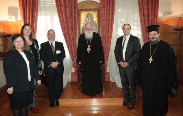 Το προσφυγικό στην στο επίκεντρο της συνάντησης του Αρχιεπισκόπου με την αντιπροσωπεία των Ευρωπαϊκών Εκκλησιών