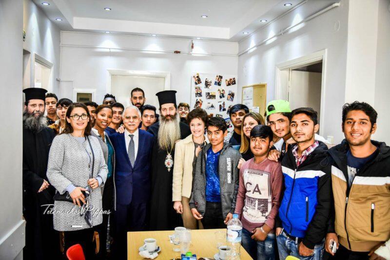 Εκκλησία της Ελλάδος και Τοπική Αυτοδιοίκηση στο πλευρό των ανήλικων προσφύγων της «ΑΠΟΣΤΟΛΗΣ»