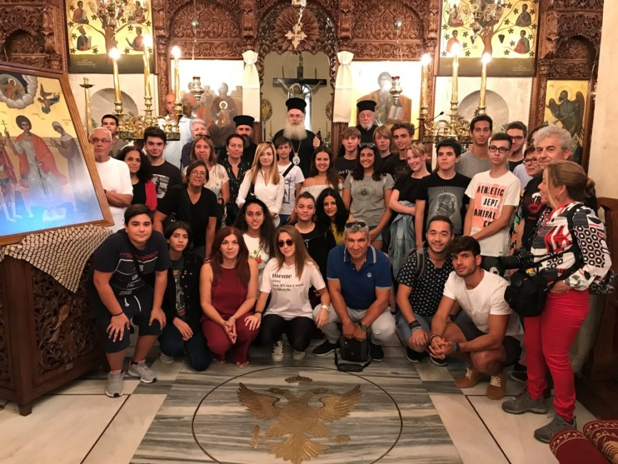 Επίσκεψη μαθητών και καθηγητών στην Μητρόπολη Ιεραπύτνης για το πρόγραμμα «ERASMUS+»