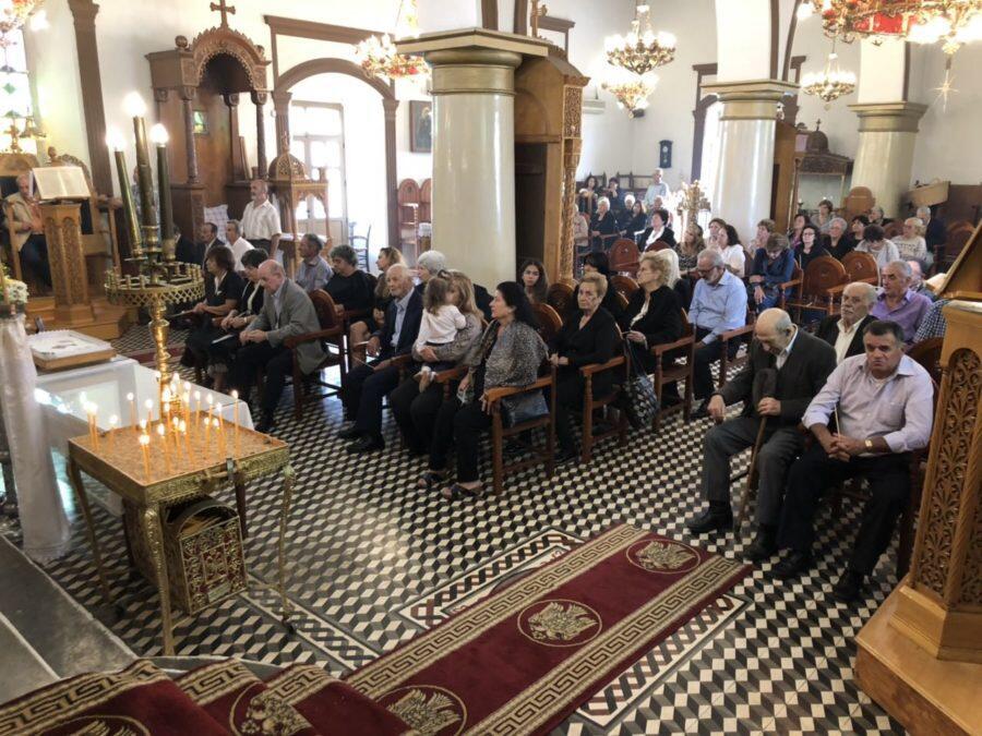 Αρχιερατική Θεία Λειτουργία και σαρανταήμερο μνημόσυνο στο Σμάρι Καστελλίου