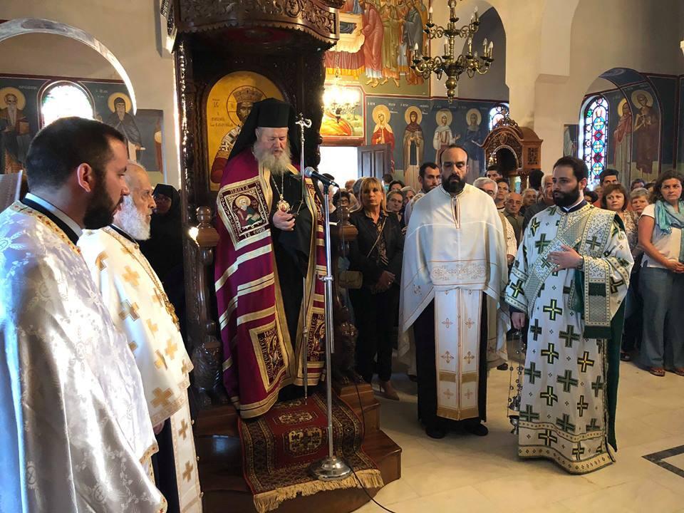 Χανιά: Πανηγυρικά εορτάσθηκε η Παναγία η Γοργοϋπήκοος στον Ναό της Πατριαρχικής Μονής Χρυσοπηγής