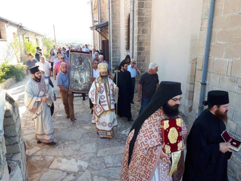 Η εορτή της Συλλήψεως του Τιμίου Προδρόμου στη Μητρόπολη Λεμεσού
