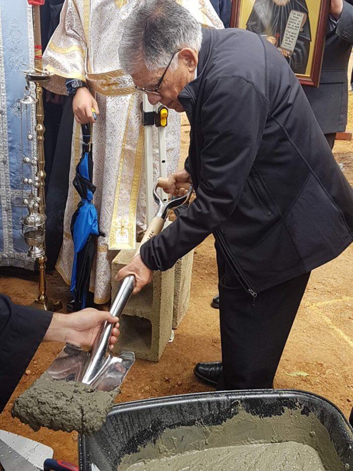 Αυστραλία: Θεμελίωση του πρώτου Ναού του Αγίου Παισΐου
