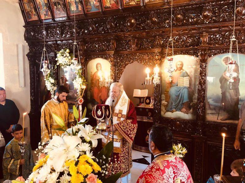 Λαμπρή Εορτή του Αγίου Δημητρίου στη Μητρόπολη Κυδωνίας