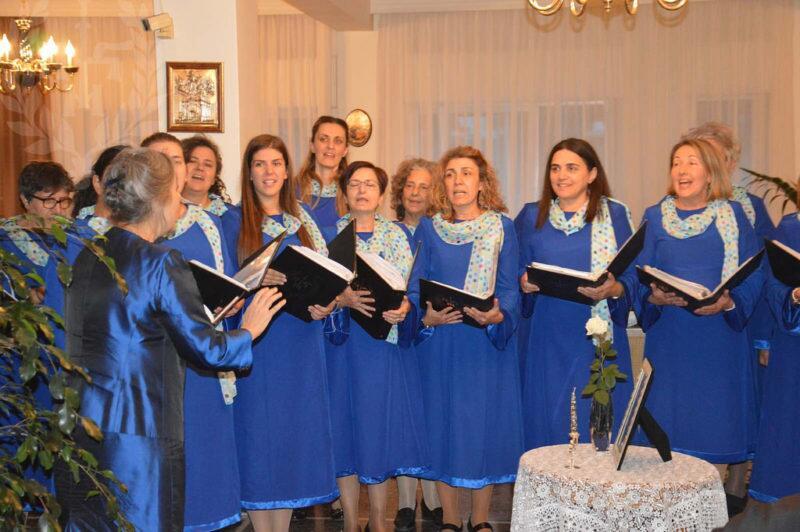 Η Γυναικεία Χορωδία στην εορτή του π.Γερβασίου Ραπτόπουλου