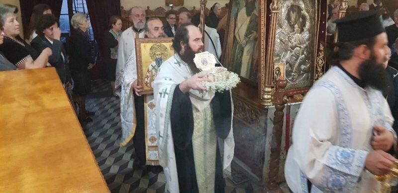 Τα Τρίκαλα υποδέχθηκαν το Λείψανο του Αγίου Αρσενίου Αρχιεπισκόπου Ελασσώνος