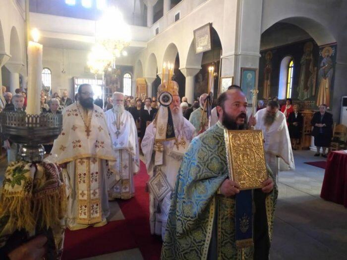 Εορτή του Αγίου Δημητρίου στη Μητρόπολη Παραμυθίας