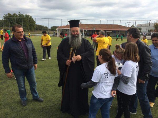 Θυρανοίξια Παρεκκλησίου στις εγκαταστάσεις της Ένωσης Ποδοσφαιρικών Σωματείων Ν. Πιερίας