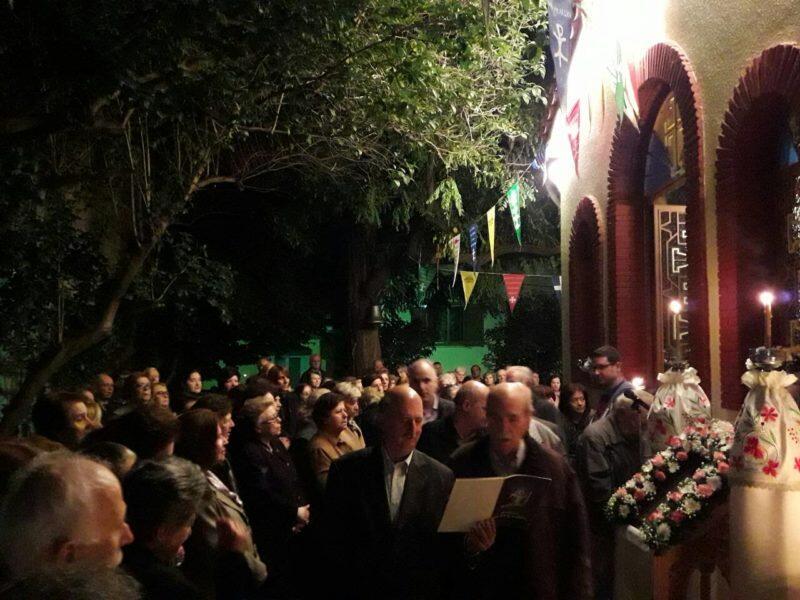 Εορτή Αγίας Ταβιθάς στη Μητρόπολη Θηβών