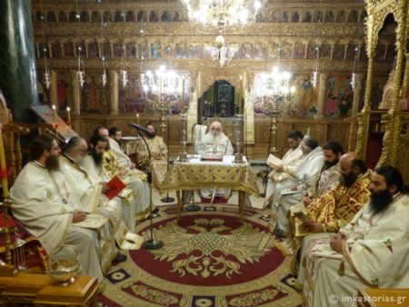 Καστοριά: Η Θεία Λειτουργία του Αγίου Ιακώβου του Αδελφοθέου