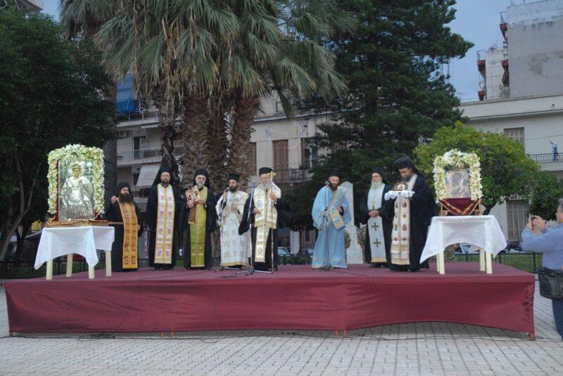 Χαλκίδα: Υποδοχή εικόνας της Παναγίας από την Ιερά Μονή Τιμίου Προδρόμου Σκοπέλου
