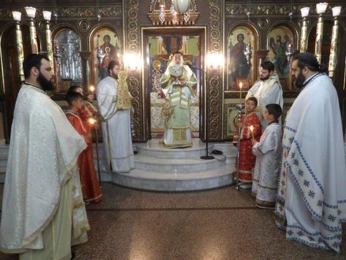 Μνημόσυνο για Μακαριστό Αρχιεπίσκοπο Χριστόδουλο και Κορίνθου Σωκράτη