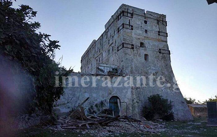 Σεισμός Ζάκυνθος: Σοβαρές ζημιές στη Μονή Στροφάδων