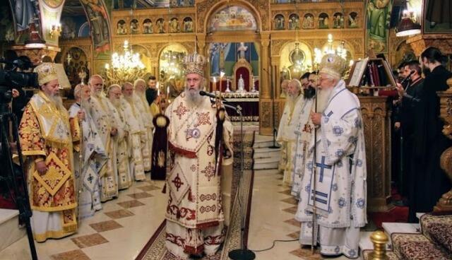 Προεόρτια αγίου Ιεροθέου στήν Ναύπακτο