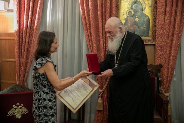 Ο Αρχιεπίσκοπος Ιερώνυμος τίμησε τη μνήμη του ομογενή Ιωάννη Σαντίκου
