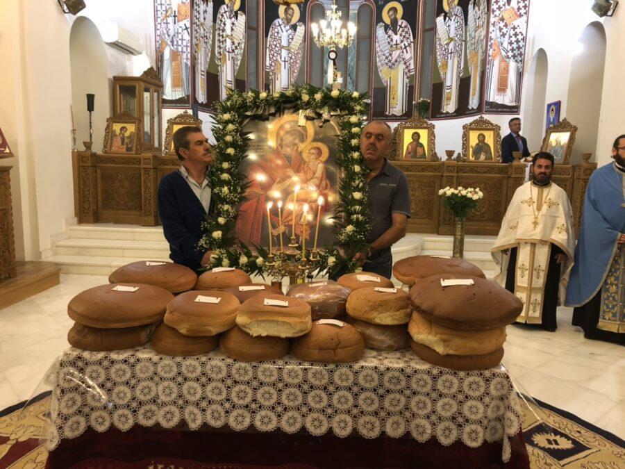 Αρκαλοχώρι: Αρχιερατικός Εσπερινός στο πανηγυρίζον παρεκκλήσι της Παναγίας της Γοργοεπηκόου