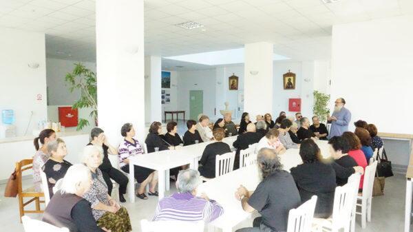 Το κέντρο ηλικιωμένων Δήμου Μαλεβιζίου επισκέφθηκε ο Γορτύνης Μακάριος
