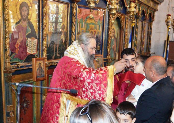 Ο Κόλινδρος εόρτασε τον πολιούχο του Άγιο Δημήτριο