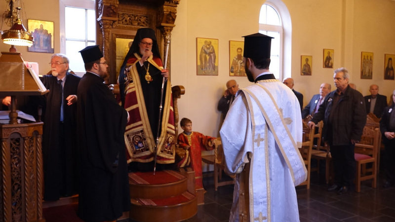 Η εορτή του Αγίου Δημητρίου στη Μητρόπολη Βελγίου
