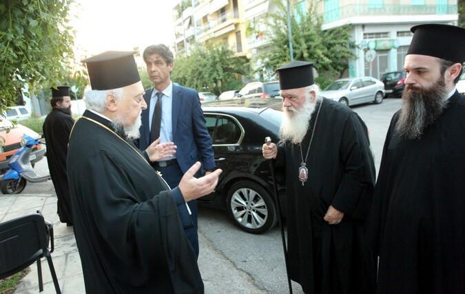 Ο Αρχιεπίσκοπος στην παρουσίαση του νέου βιβλίου του Μητροπολίτη Κορωνείας