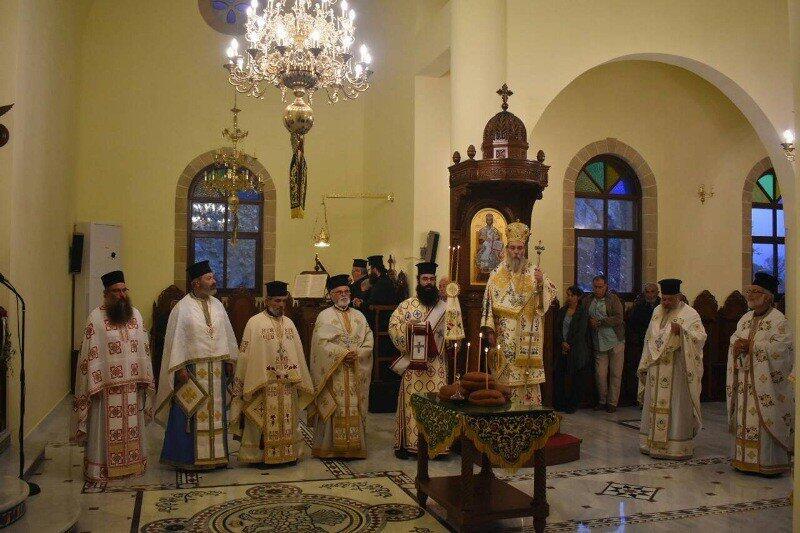 Πρώτη Θεία Λειτουργία στον Όσιο Νικηφόρο τον Λεπρό