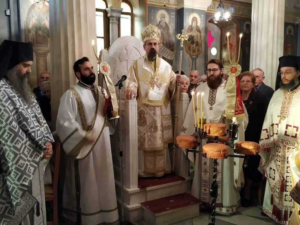 Εορτή Ευαγγελιστού Λουκά στη Μητρόπολη Θηβών