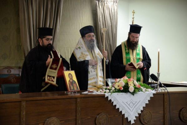 Αγιασμός στο ΑΤΕΙ Δυτικής Ελλάδος από τον Πατρών Χρυσόστομο