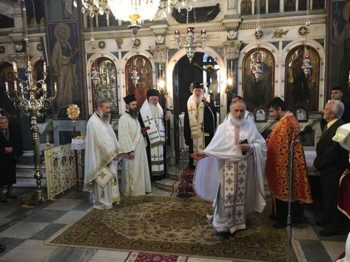 Ο Αρχιεπίσκοπος στον Ιερό Μητροπολιτικό Ναό Εισοδίων της Θεοτόκου Λιβαδειάς
