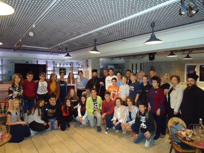 Με μαθητές από Ελλάδα και εξωτερικό συναντήθηκε ο Μητροπολίτης Μαρωνείας
