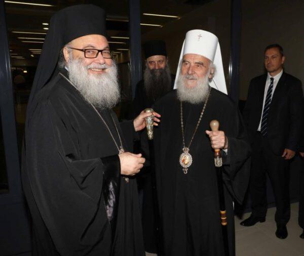 Στο Βελιγράδι ο Πατριάρχης Αντιοχείας