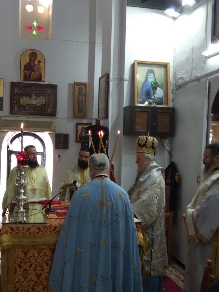 Εορτή Αγίου Δημητρίου στη Μητρόπολη Καρυστίας