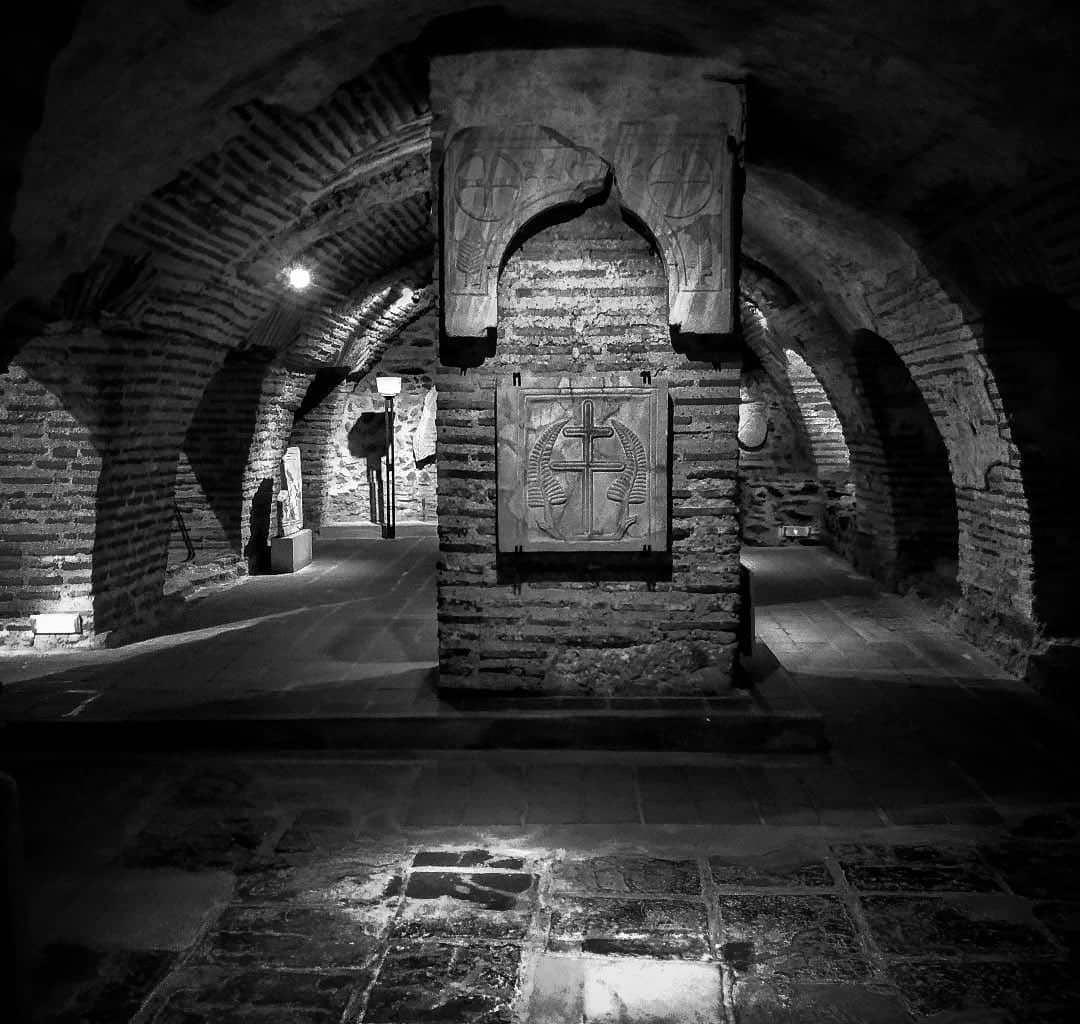 Κρύπτη Ναού Αγίου Δημητρίου Θεσσαλονίκη