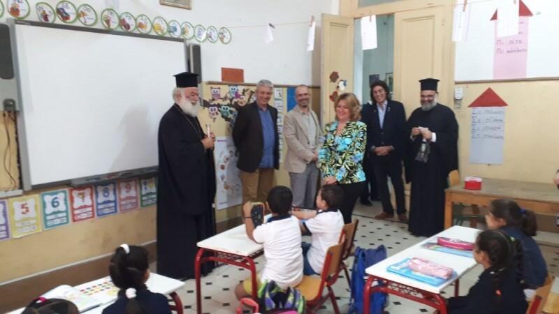 Πατριάρχης Αλεξανδρείας Ελληνικά εκπαιδευτήρια Καΐρου