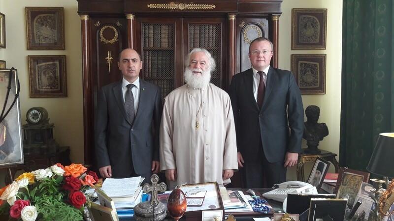 Πατριάρχης Αλεξανδρείας Θεόδωρος και Πρέσβης Ουκρανίας Latii