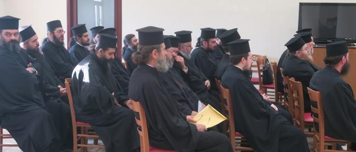 Μηνιαία Ιερατική Σύναξη Οκτωβρίου στη Μητρόπολη Φθιώτιδος