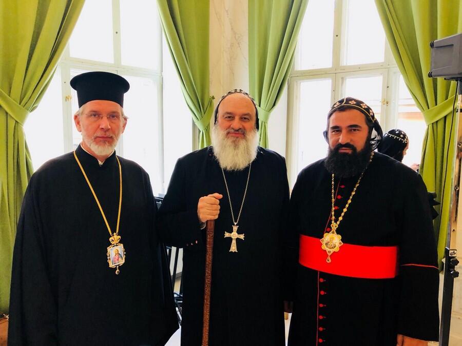 Τον Πατριάρχη Ιγνάτιο συνάντησε ο Μητροπολίτης Σουηδίας Κλεόπας