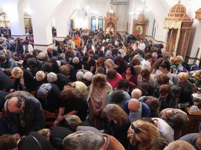 Δημήτρια 2018: Ευχέλαιο με τη συμμετοχή περισσοτέρων από χιλίων πεντακοσίων πιστών